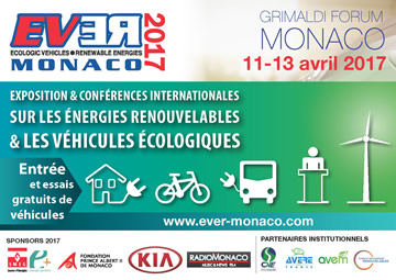 Salon EV-ER à Monaco (Avril 2017)