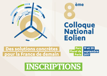 8e colloque national éolien (Paris, septembre 2017)