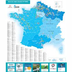 Atlas des parcs éoliens 2016