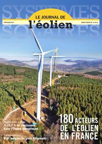 Couverture du journal de l'éolien numéro 14
