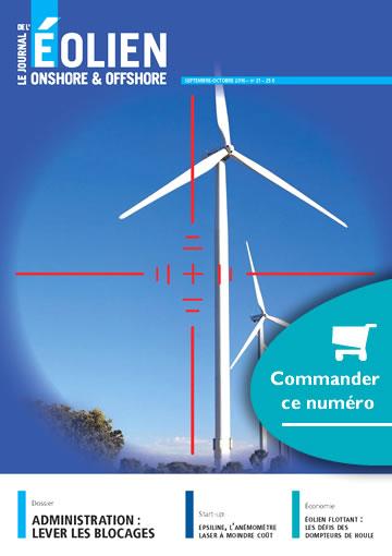 Commander le numero 21 du journal de l'éolien